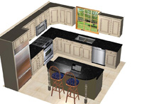 12 X12 Kitchen Design Layouts Submited Images