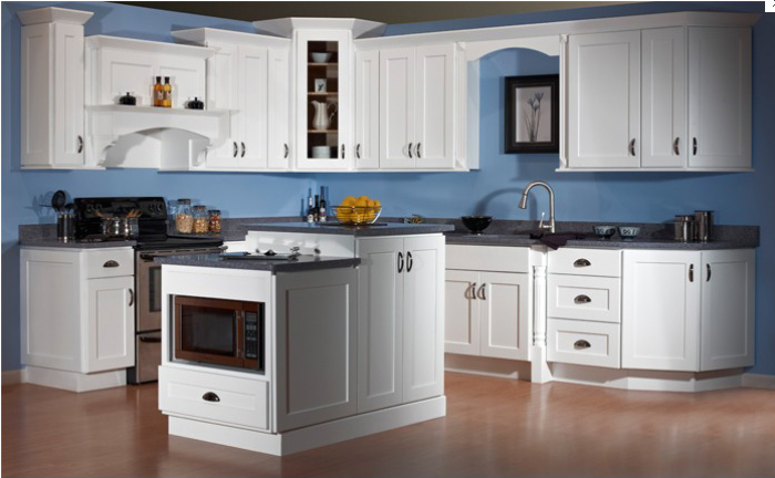 Shaker jsi dover for Can you paint thermofoil kitchen cabinets
