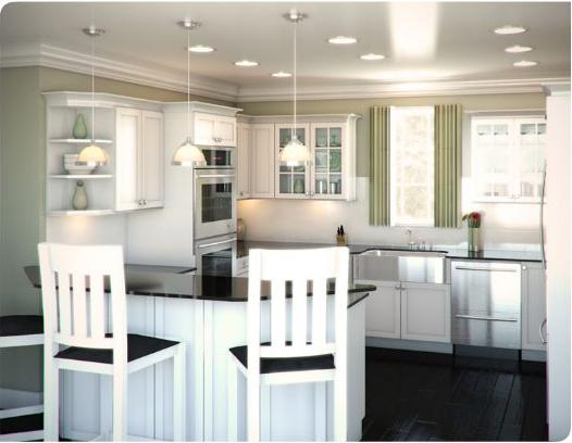 Common Kitchen Layouts :: G-Shape :: On Cape Kitchens