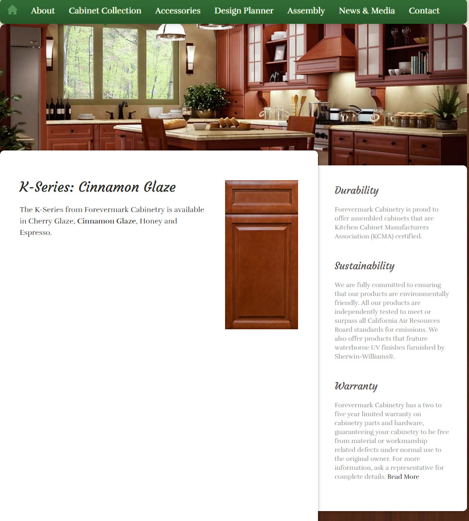 K Series Cinnamon Glaze