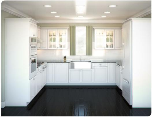 Common Kitchen Layouts :: U-Shape :: On Cape Kitchens